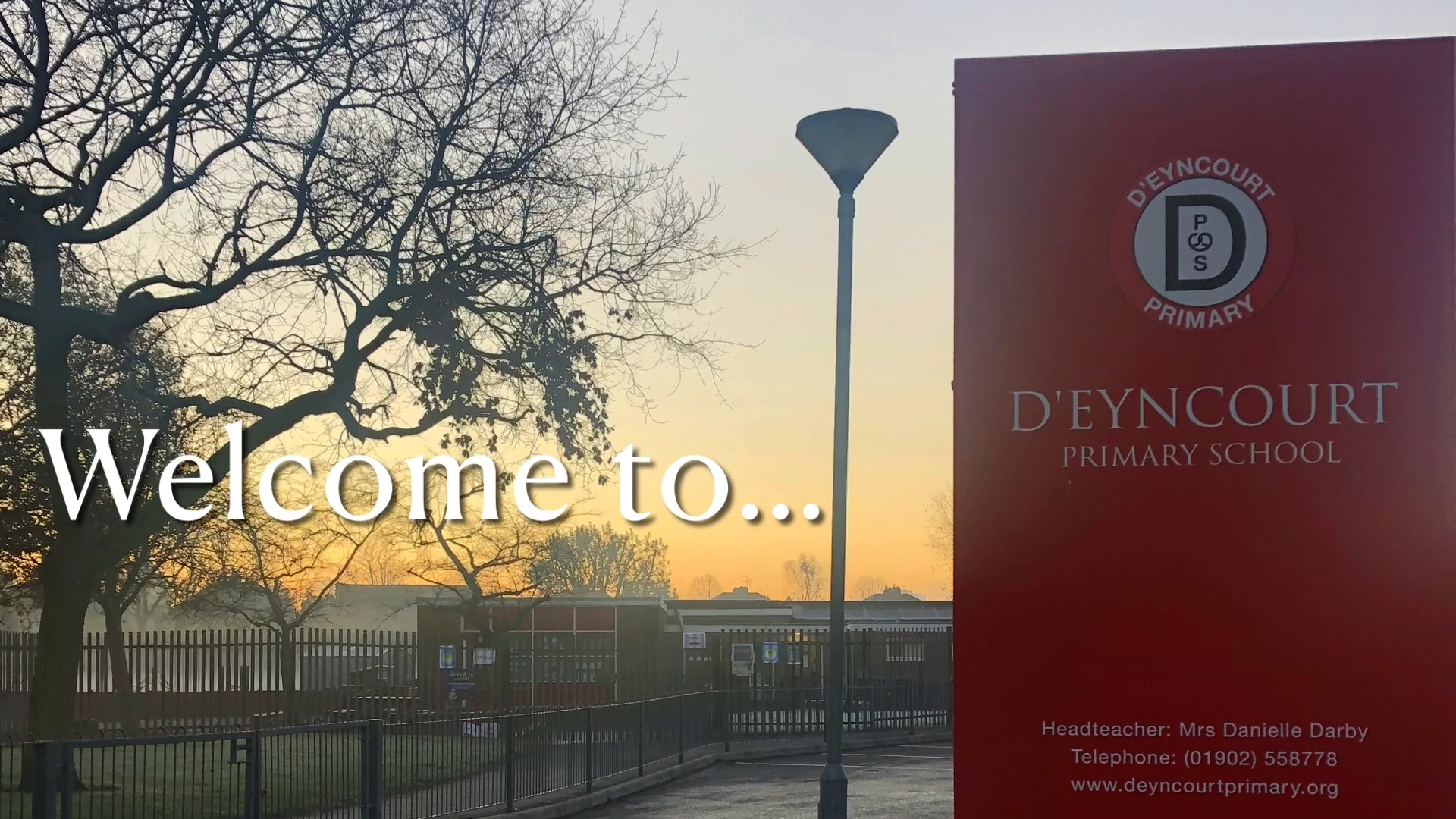 Welcome to D'Eyncourt Primary School